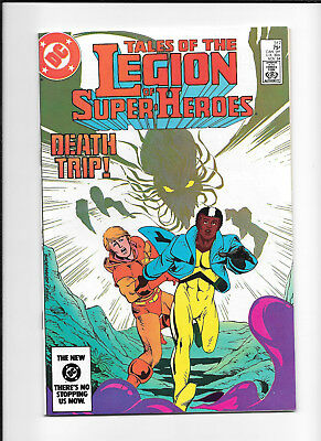 Legion Of Super Heroes #317 (8.0) Dc Copper