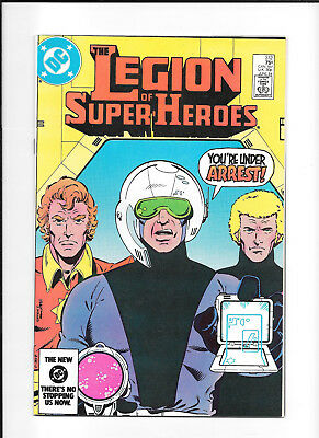 Legion Of Super Heroes #312 (7.5) Dc Copper