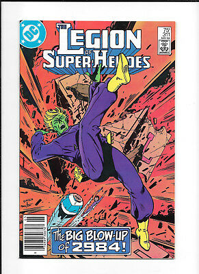Legion Of Super Heroes #312 (7.0) Dc Newsstand