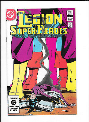 Legion Of Super Heroes #305 (7.5) Dc Copper