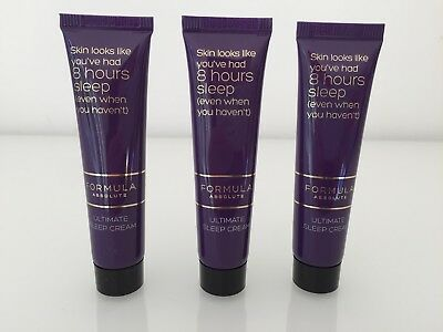 Marks and Spencer M&S Formula Absolute Ultimate Sleep Cream 15ml x 3 = 45ml