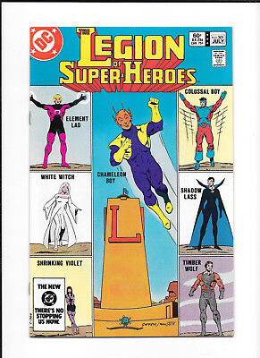 Legion Of Super Heroes #301 (7.5) Dc Copper