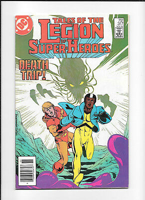 Legion Of Super Heroes #317 (8.5) Dc Newsstand