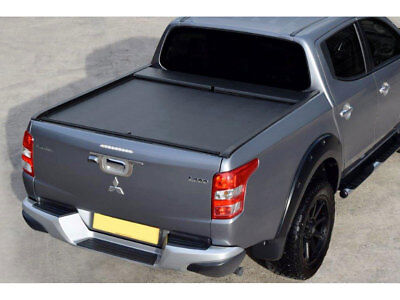 Mitsubishi L200 Series 5 2015 On Roll N Lock Roller Shutter Tonneau Cover LG614M
