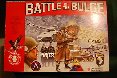 BATTLE OF THE BULGE - Avalon Hill - UNPUNCHED