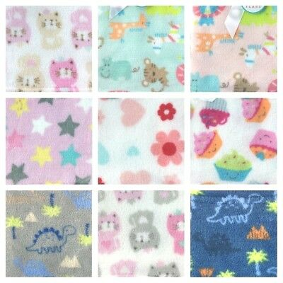 Magic Years Baby Blanket Plush Fleece Girls Boys Dino Giraffe Elephant Star Cats