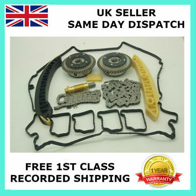 New Camshaft Cam Gears Adjuster Timing Chain Kit For Mercedes 180 180K 1.8L M271