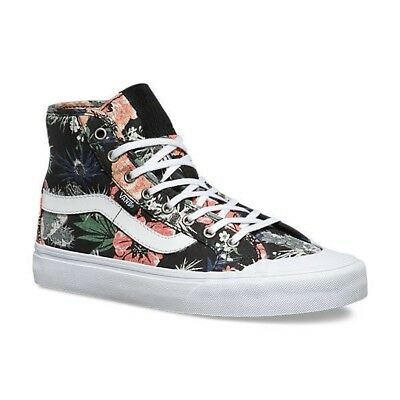 6d5382a0349ade VANS Black Ball Hi SF (Desert Floral) Black UltraCush WOMEN S Sk8 Hi SIZE 9
