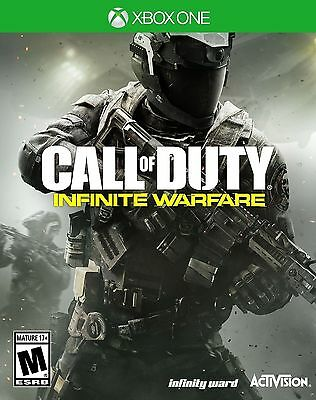 New Sealed | Call Of Duty : Infinite Warfare | Xbox One | Free Fast Shipping