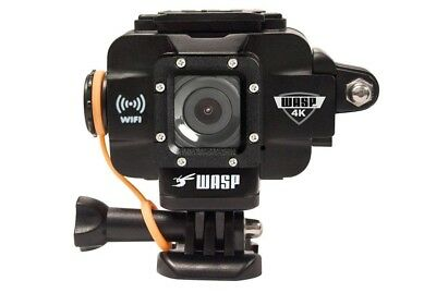 WASPCam by Cobra Wasp 9907 4K WiFi Action-Sport Waterproof Camera BLK