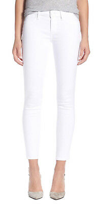 Paige 1844700-2544 Verdugo Ankle Mid-Rise Ultra Skinny Ultra White Jeans $189