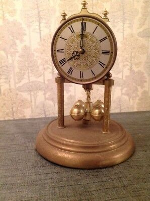 Vintage German Quartz 400 day anniversary torsion clock Repair Spare Parts