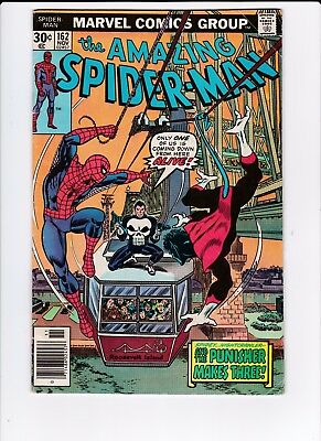 Marvel Amazing Spider-Man #162 1st Appearance of Jigsaw 3.5 VG-  FREE SHIPPING
