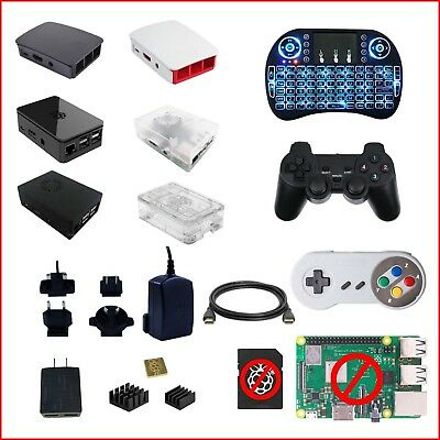 Raspberry Pi 3 Model B Build-It-Yourself (BIY) Accessory Kit Black