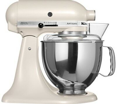 kitchenaid artisan stand mixer 5ksm150psbac4 almond picclick uk. Black Bedroom Furniture Sets. Home Design Ideas