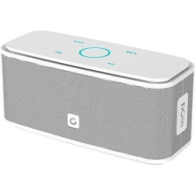 DOSS Touch Wireless Bluetooth V4.0 Portable Speaker with HD Sound and Bass White