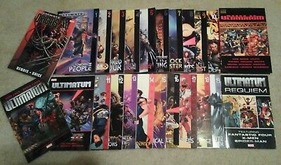 Ultimate X-MEN complete run Ultimatum TPB Ultimate Galactus trilogy HC