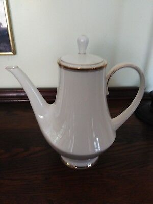 Beautiful Vintage - Noritake Viceroy Ivory with Gold Trim Coffee Pot