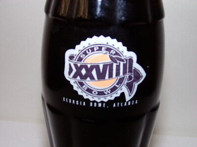 NFL Super Bowl XXVIII Georgia Dome Atlanta 1994 Coke Bottle 8oz.