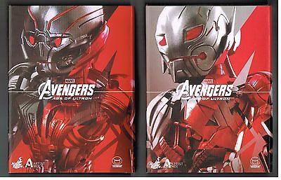 Ltd. Hot Toys Ultron Prime and Ultron Sentry (Prime) by Touma...New in Package!
