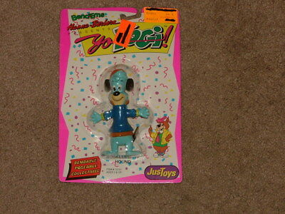 """Hucklebby Hound Figure Just Toys ( 1991 ) 4"""" tall, new old stock Item # 12191"""