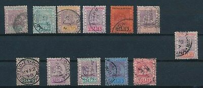 British Guiana SEAL OF THE COLONY (12); **BEAUTIFUL 1889-1910 ISSUES**