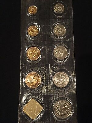 Russia Soviet Union 9 Piece Mint Set 1986 With Medal Sealed