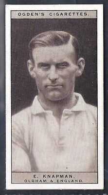 Ogdens-Famous Rugby Players-#08- Oldham - Knapman