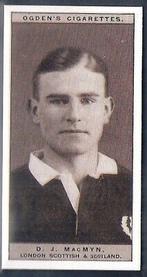 Ogdens-Famous Rugby Players-#18- Scotland - Macmyn