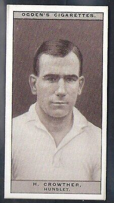 Ogdens-Famous Rugby Players-#33- Hunslet - Crowther