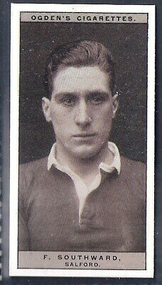Ogdens-Famous Rugby Players-#46- Salford - Southward