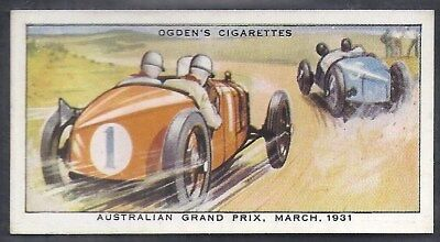 Ogdens-Motor Races 1931-#05- Quality Card!!!