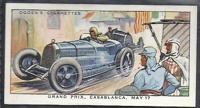Ogdens-Motor Races 1931-#10- Quality Card!!!