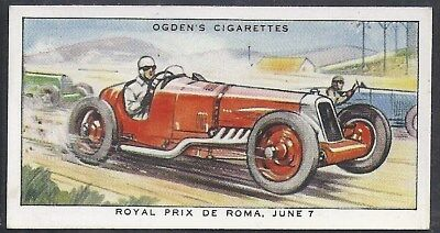 Ogdens-Motor Races 1931-#13- Quality Card!!!