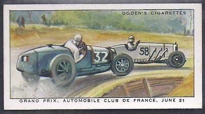 Ogdens-Motor Races 1931-#15- Quality Card!!!
