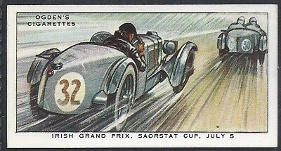 Ogdens-Motor Races 1931-#19- Quality Card!!!