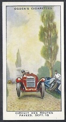 Ogdens-Motor Races 1931-#32- Quality Card!!!
