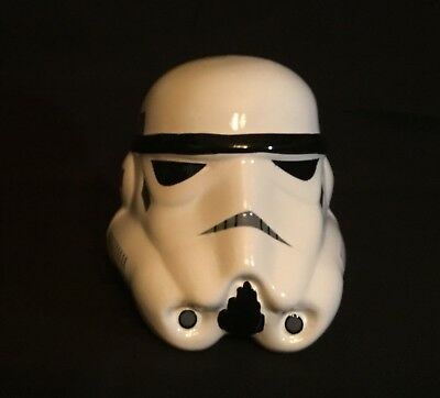 Brand New!! Star Wars Mini Ceramic Bank - Stormtrooper Excellent Condition.