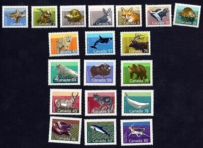 Canada Complete Mammals Definitives Collection MNH