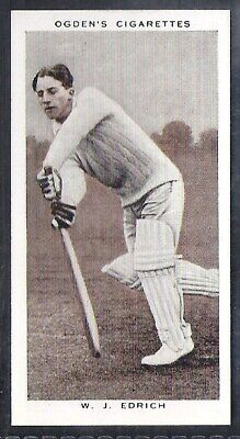 Ogdens-Prominent Cricket Ers Of 1938-#07- Middlesex - Edrich