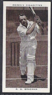 Ogdens-Prominent Cricket Ers Of 1938-#38- New South Wales - Bradman
