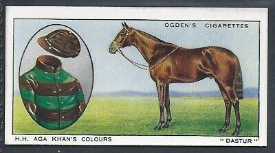 Ogdens-Prominent Racehorses Of 1933-#09- Top Quality Horse Racing Card!!!