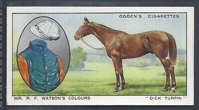 Ogdens-Prominent Racehorses Of 1933-#11- Top Quality Horse Racing Card!!!