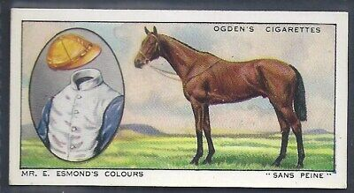 Ogdens-Prominent Racehorses Of 1933-#41- Top Quality Horse Racing Card!!!
