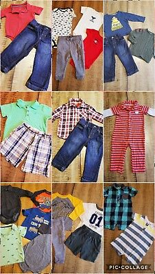 Lot of 26 Pc Baby Boys 18-24 M Winter Spring  Clothes Outfits