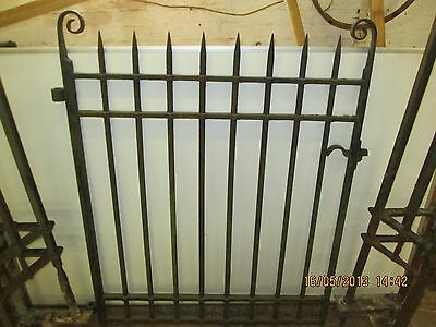 Edwardian cast iron gate