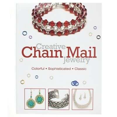 Creative Chain Mail Jewelry Book by Kalmbach Books (A23/2)