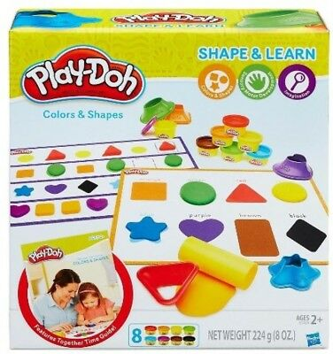 NEW Playdoh Colours And Shapes from Mr Toys