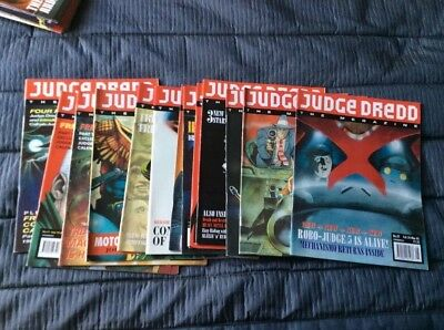 Judge Dread The Megazine 1992 Issues 10-22