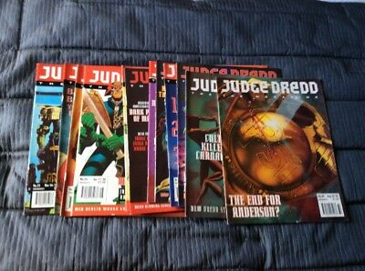 Judge Dread The Megazine 1993 Issues 23-34 Magazines And Comics